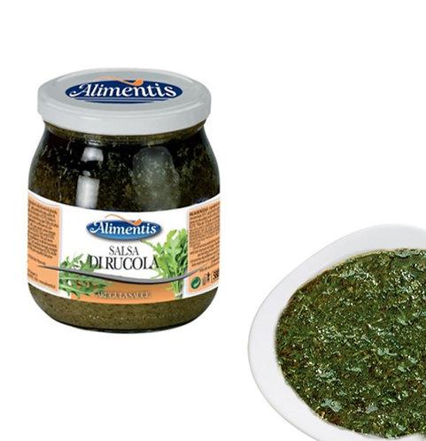 Rocket (Arugula) Sauce - Gluten Free - ALIMENTIS - 500 gr