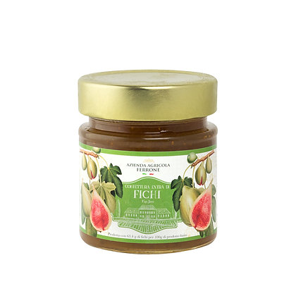 Premium Jams Figs & Almonds 200 gr