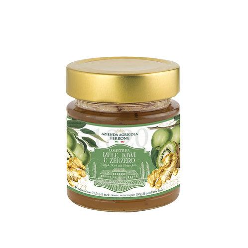 Premium Jam Apple, Kiwi and Ginger 200 g