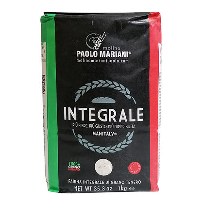 Integrale Wholemeal Wheat Flour 1kg