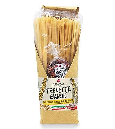 Trenette Bianche White Pasta with Garlic & Chili Aglio e Peperoncino 500gr