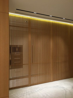 Wood Paneled Foyer