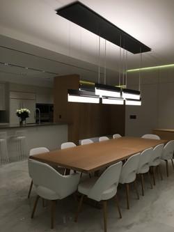 Dining Room, Wood Paneled Foyer
