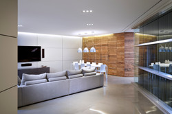 Media Area, Kitchen