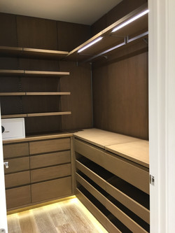 Custom Made Walk-In-Closets