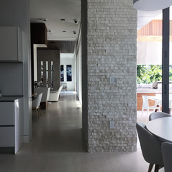 CONNECTING SPACES, KITCHEN AND DININ
