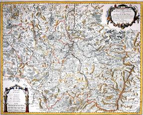 Guillaume de L'Isle, 1709.