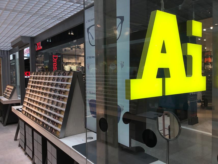 Ai Eyewear Synsam butiksinredning- Smålandsinredningar