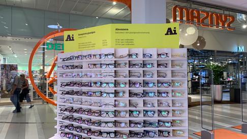 Ai Eyewear Synsam butiksinredning - Smålandsinredningar
