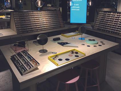 Ai Eyewear butiksinredning- Smålandsinredningar