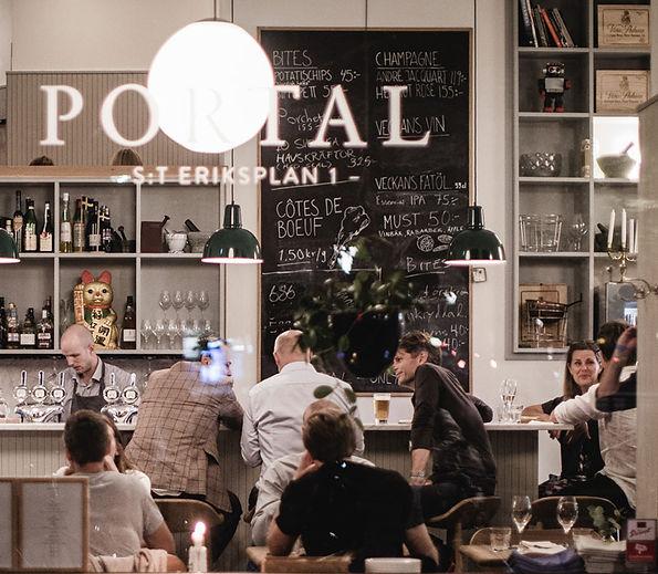 Inredningsskickeri för restaurang och caféer.