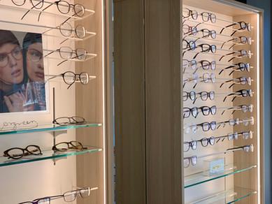 Optiker butiksinredning - Smålandsinredningar