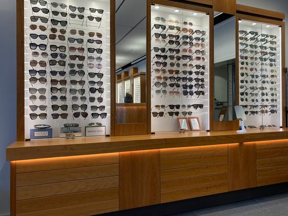 Butiksinredning glasögon