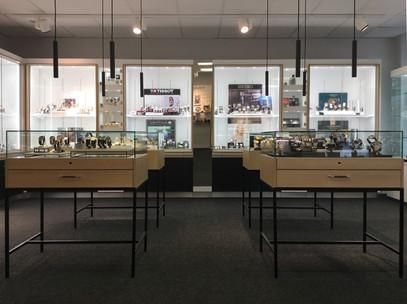 Klockmaster koncept butiksinredning - Smålandsinredningar
