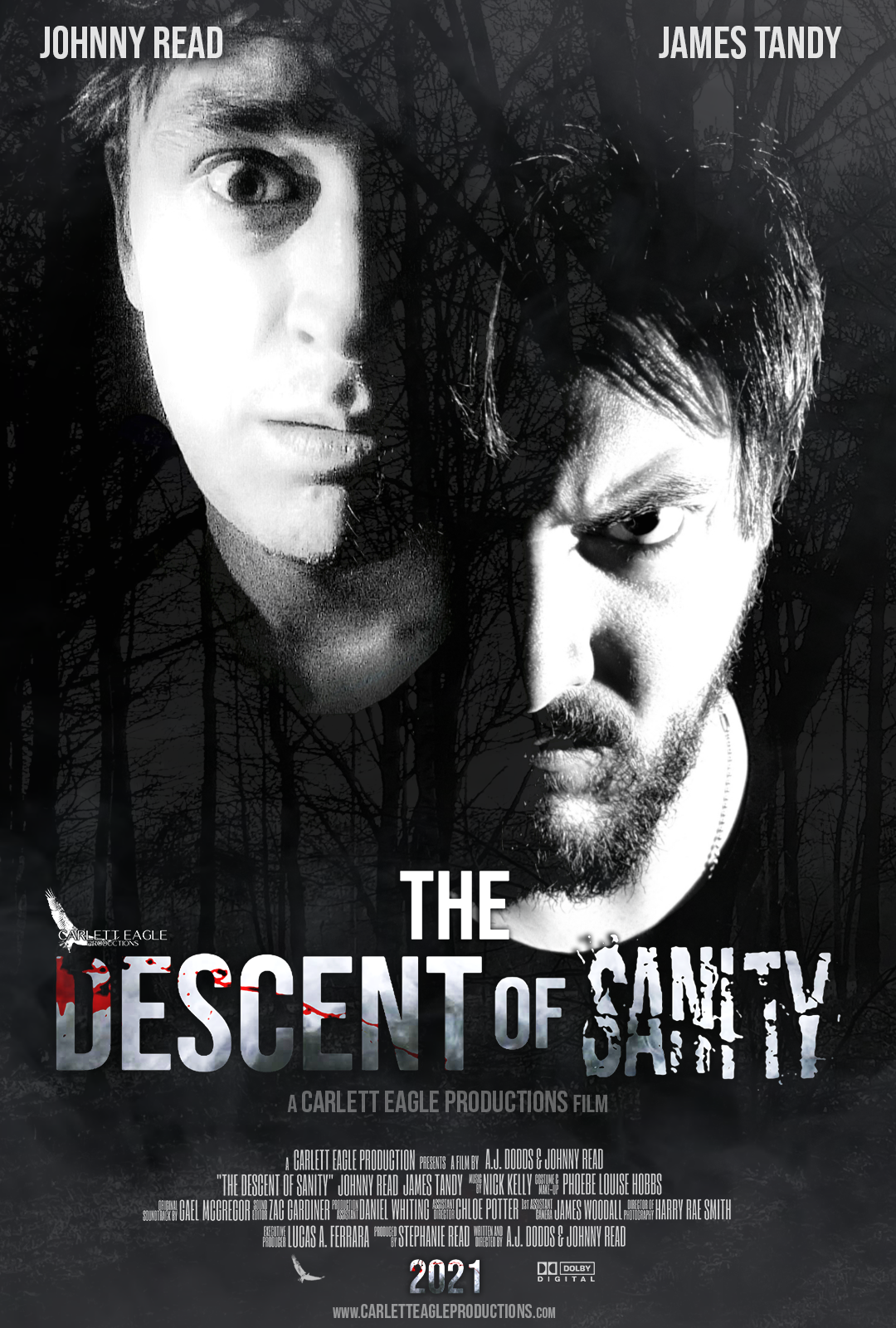 The Descent of Sanity Poster Variant 2