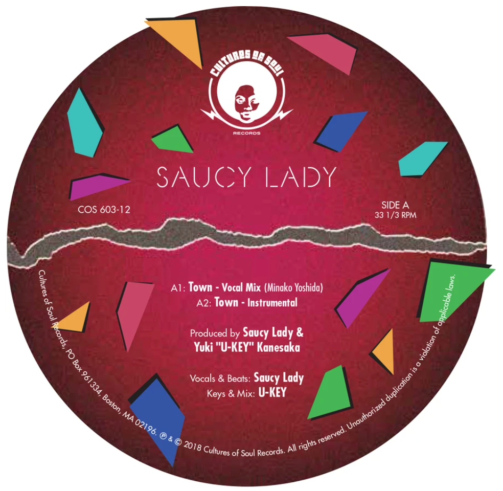 Town EP by Saucy Lady & U-Key, Cultures of Soul