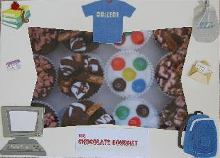 College graduate chocolate gift idea