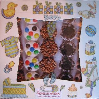 Baby Boy chocolate Shower Gift