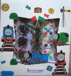 Thomas the Tank Engine Birthday CHocolate Party Box