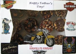 Happy Father's Day chocolate gift