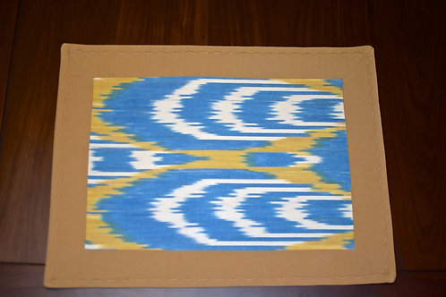 Blue and yellow Placemats