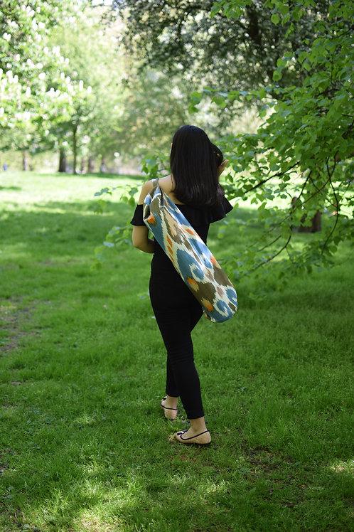 Ikat Sulhiya yoga mat bag
