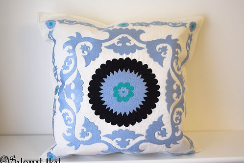 Stunning suzani cushion cover
