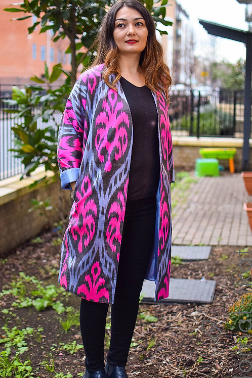 Colourful bliss long jacket