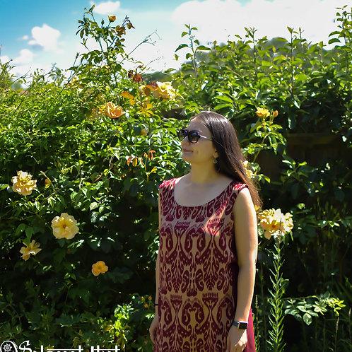 Ikat tunic dress