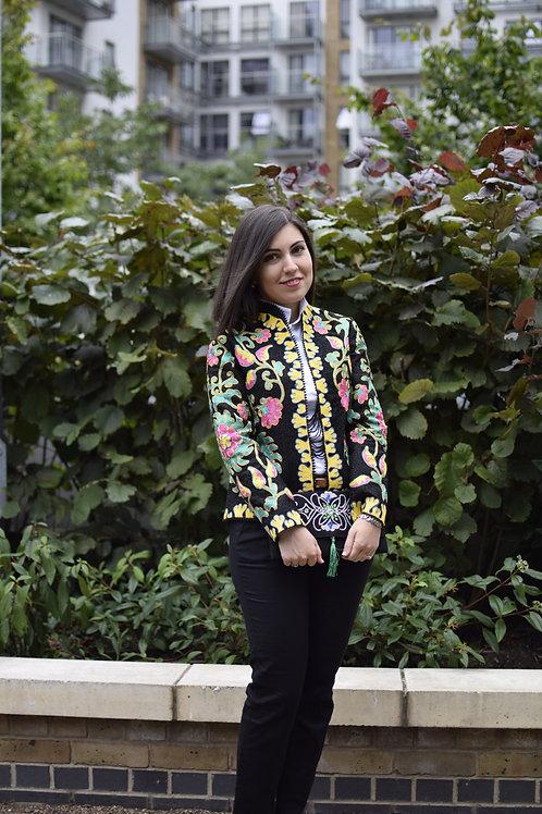 Handmade, embroidered jacket
