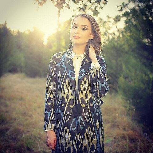 Stylish Ikat coat