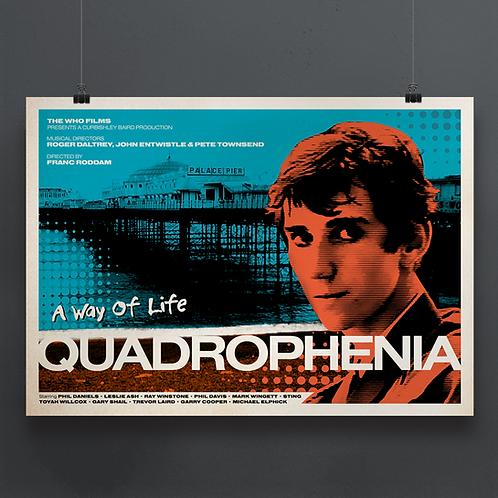 Quadrophenia Fanboy Film Print