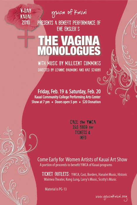 Eve Ensler's Vagina Monologues