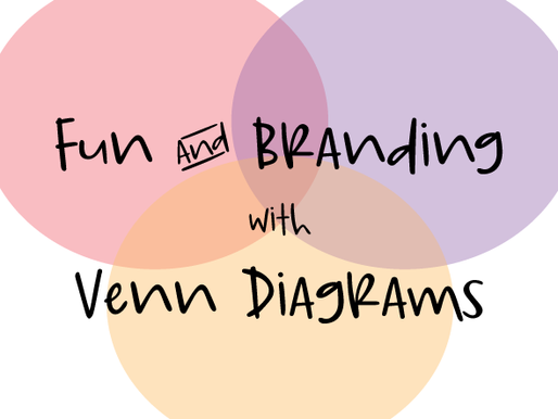 Fun & Branding with                 Venn Diagrams