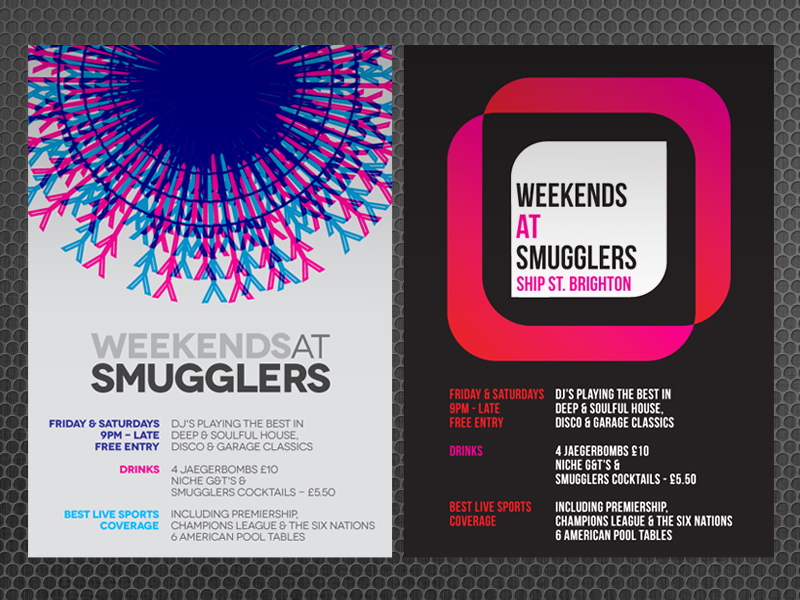Club/Bar Posters