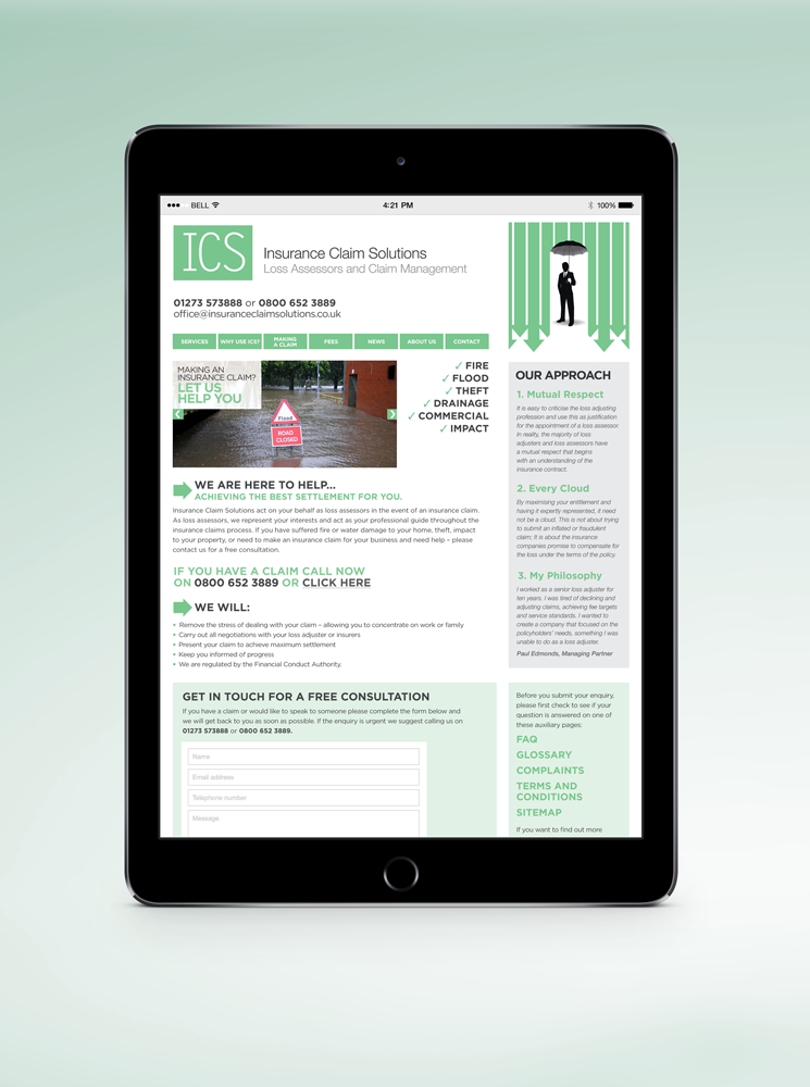 Web Design Refresh - ICS
