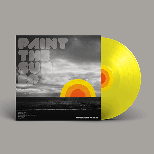 "PAINT THE SUN 10"" Coloured Vinyl 5-track EP 180g"