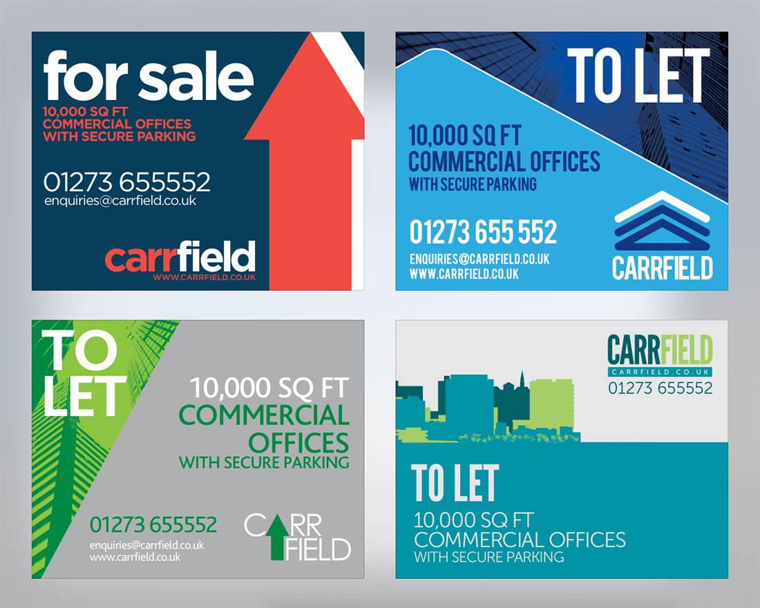 Carrfield Signage Visuals