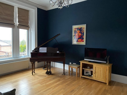 What a beautiful room! Thanks to Sharen