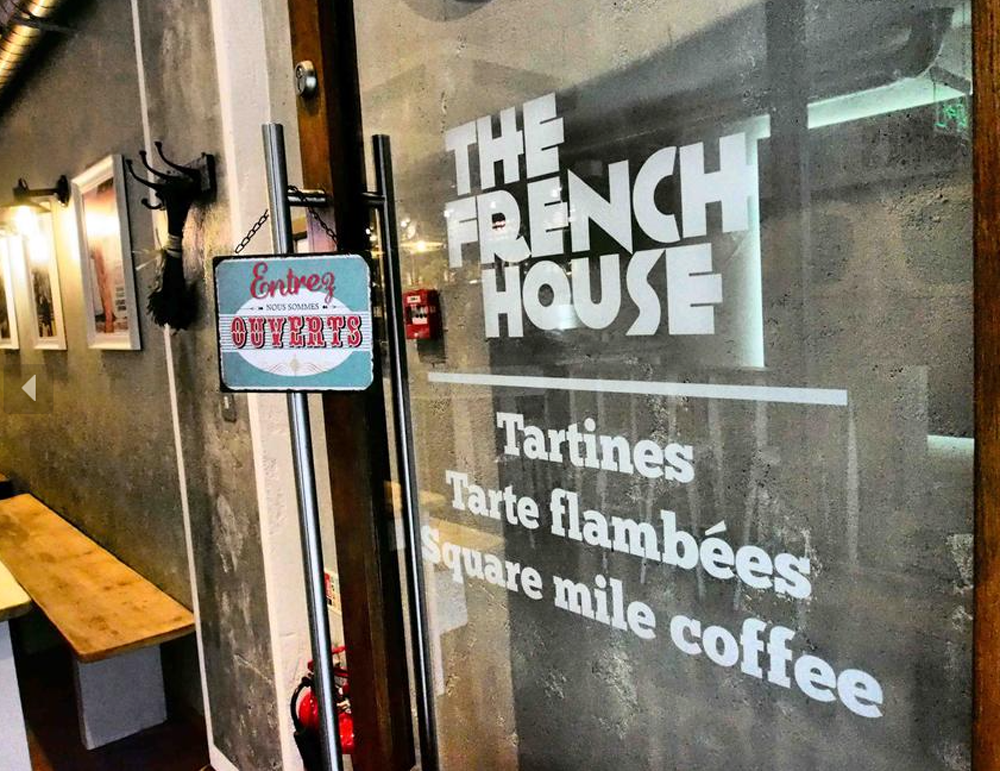 The French House Logo Design