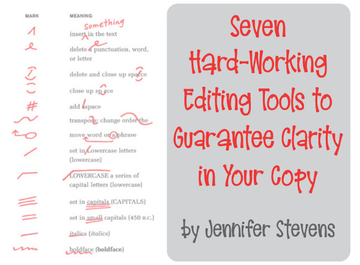 Seven Hard-Working Editing Tools to Guarantee Clarity in Your Copy