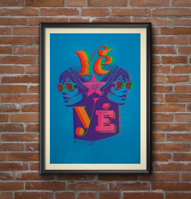 'Yé-Yé' sent by Ali, Brighton