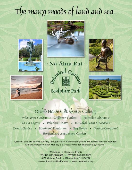 Na Aina Kai Botanical Gardens & Sculpture Park