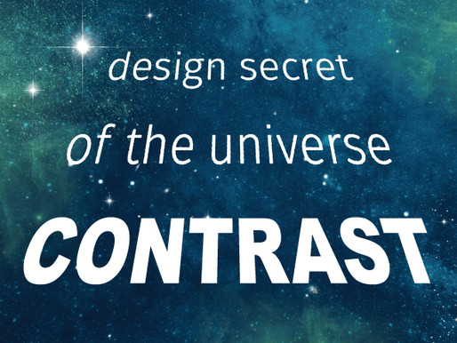Contrast: The Design Secret of the Universe