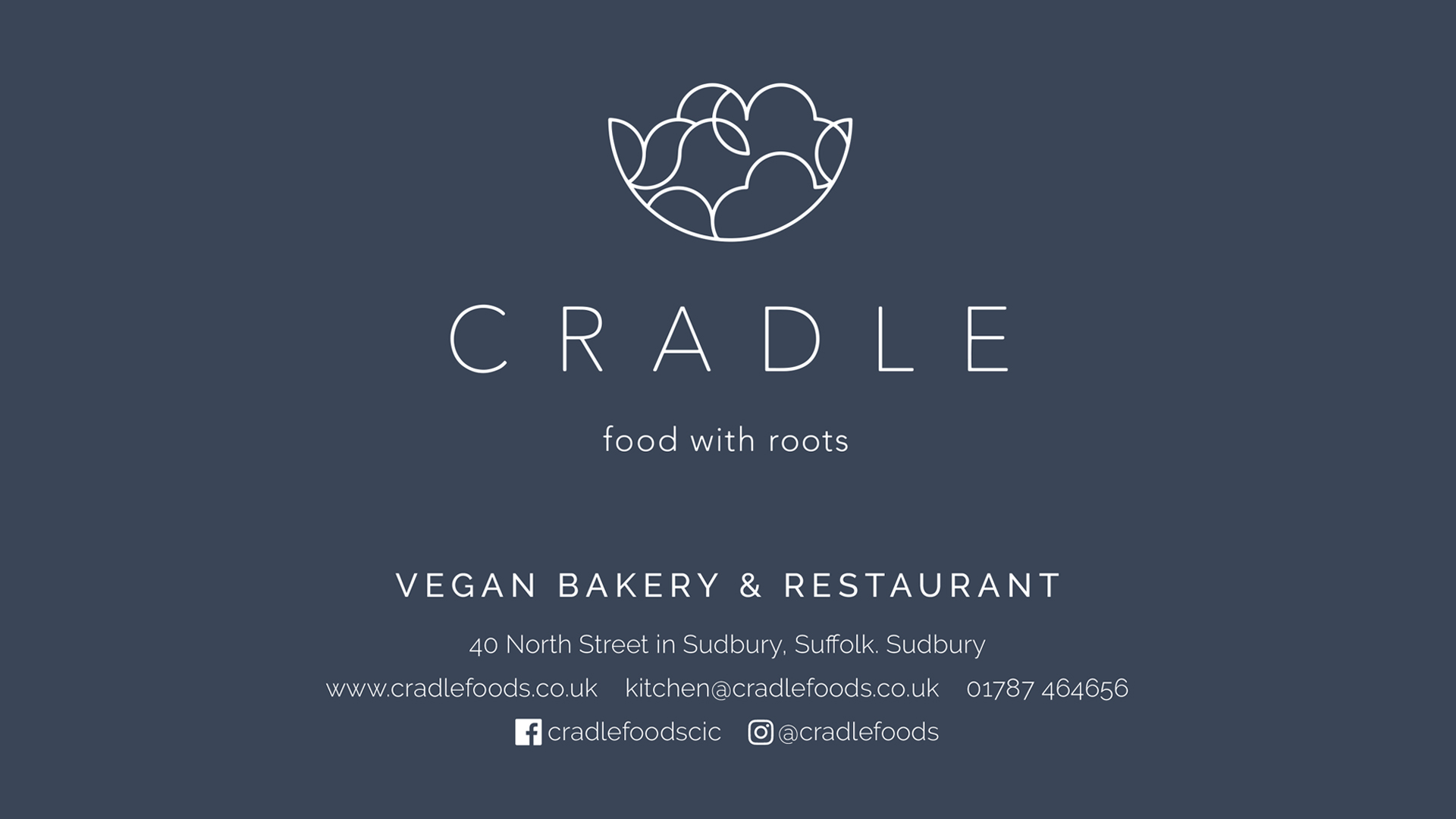 Cradle Marketing Panel