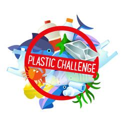 Plastic Challenge Logo
