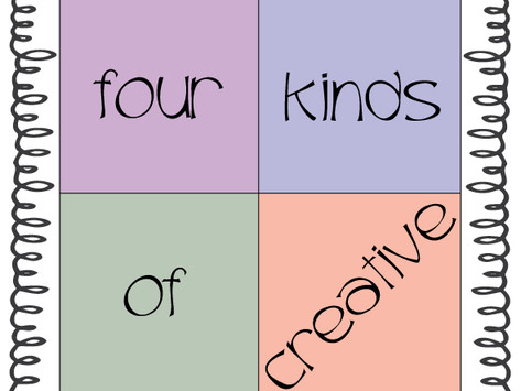 Four Kinds of Creative