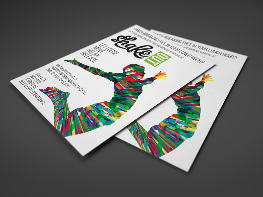 Shake Out Event Flyers