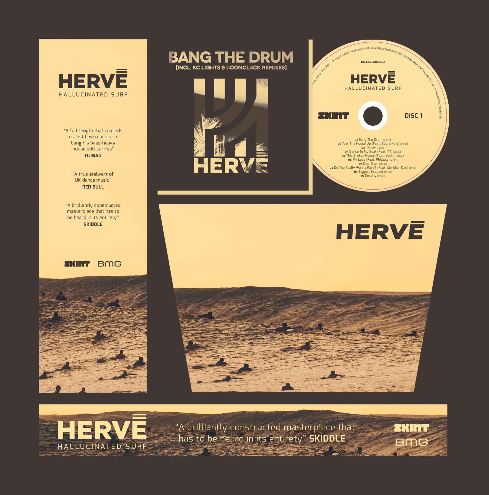 Design for Hervé album 2016