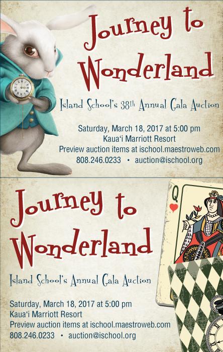 Journey to wonderland